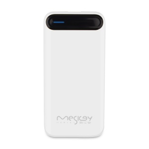 MESKEY MS-P21 Fresh Color 10000mAh Power Bank Mobile Power for iPhone 7, Samsung S8 - White