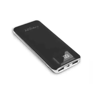 MESKEY MS-P30 Business Type Power Bank 13000mAh with LED Display for iPhone 7, Samsung S8 - Black