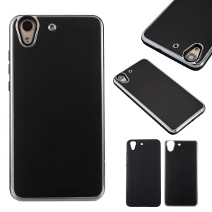 2 in-1 Metal +TPU Hybrid Phone Accessory Cover for Huawei Y6II /Honor Holly 3/Honor 5A - Black