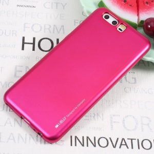 MERCURY GOOSPERY i JELLY Metallic TPU Back Shell for Huawei P10 - Rose