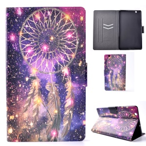 Stand Patterned Leather Card Slots Flip Cover for Huawei MediaPad M3 8.4 - Dream Catcher