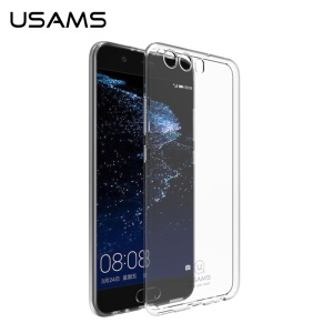 USAMS Primary Color Series Clear Soft TPU Cover for Huawei P10 Plus - Transparent