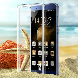 IMAK Clear Wear-resistant Hard Cell Phone Case for Huawei Honor 8 Pro / Honor V9