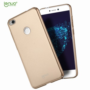 LENUO Leshield Série Silky Touch Hard Shell Case pour Huawei P8 Lite(2017) / honorer 8 Lite - Or