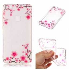 Pattern Printing IMD TPU Cover Case for Huawei P10 Lite - Flowers Pattern