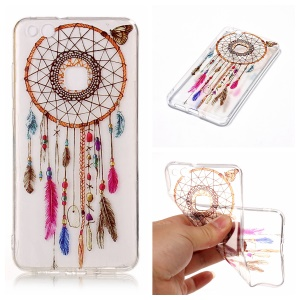 Pattern Printing IMD TPU Protective Case for Huawei P10 Lite - Dream Catcher