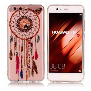 Pattern Printing IMD TPU Case for Huawei P10 - Dream Catcher