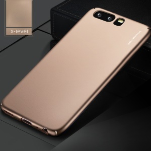 X-LEVEL Frosted PC Hard Phone Shell for Huawei P10 Plus - Gold