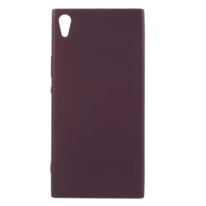 X-LEVEL Guardian Series Matte TPU Mobile Phone Case for Sony Xperia XA1 Ultra - Wine Red