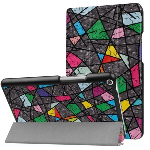 Patterned PU Leather Protective Case  with Stand for Huawei MediaPad T3 8.0 - Colorful Pattern
