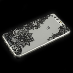 Lightweight Pattern Printing TPU Protective Case for Huawei P10 - Lace Pattern