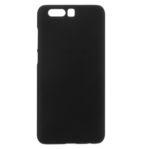 For Huawei Honor 9 Rubberized Hard Plastic Cell Phone Back Cover - Black