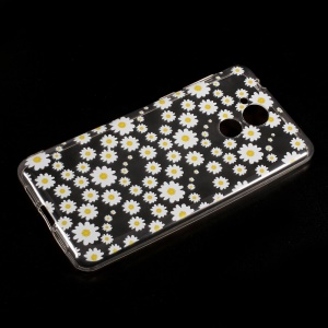 Ultra-thin Patterned TPU Phone Case for Huawei Honor 6C / Enjoy 6s - Daisy