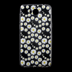 Ultra Thin Patterned Soft TPU Shell for Huawei Y5 (2017) / Y6 (2017) - Daisy