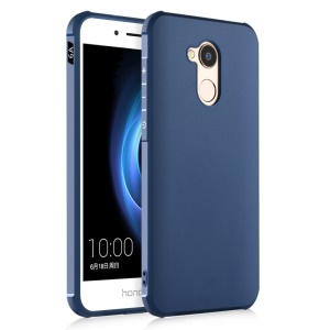 Drop-proof TPU Protection Mobile Phone Back Casing Cover for Huawei Honor 6A / Honor 5C pro - Dark Blue