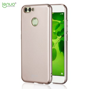 LENUO Leshield Series 0.9mm Rubberized PC Hard Back Case Shell for Huawei nova 2 - Rose Gold