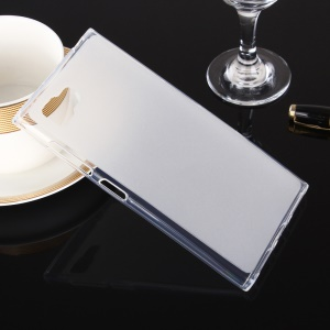 Double-sided Matte Pudding TPU Gel Case for Lenovo Vibe Z2 - White