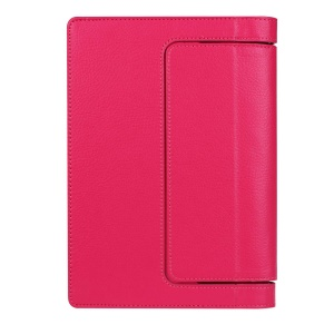 Litchi Texture PU Leather Protective Cover for Lenovo Yoga Tab 3 8.0 - Rose