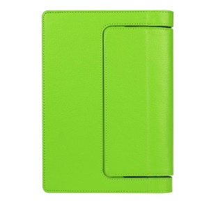 Litchi Texture Protective Leather Flip Case for Lenovo Yoga Tab 3 8.0 - Green