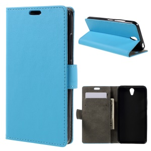 For Lenovo Vibe S1 Leather Wallet Phone Cover - Blue