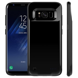 4200mAh External Battery Charger Case for Samsung Galaxy S8 G950 - Black