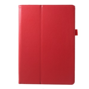 Protective Leather Stand Cover for Lenovo Tab 3 10 Plus TB3-X70F - Red