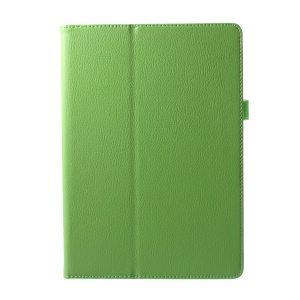 PU Leather Stand Cover Protector for Lenovo Tab 3 10 Plus TB3-X70F - Green