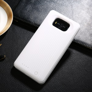 6600mAh External Backup Battery Charger Case for Huawei Mate 10 - White