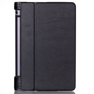 PU Leather Stand Case for Lenovo Yoga Tab 3 8.0 - Black
