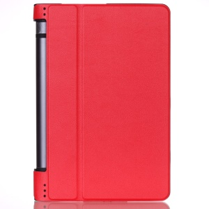 PU Leather Stand Case Cover for Lenovo Yoga Tab 3 8.0 - Red