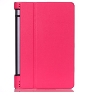 PU Leather Stand Cover Case for Lenovo Yoga Tab 3 8.0 - Rose