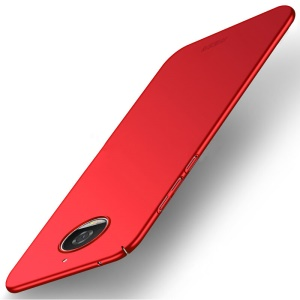 MOFI Shield Slim Frosted Hard PC Case for Motorola Moto G5S Plus - Red