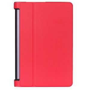 PU Leather Stand Cover for Lenovo Yoga Tab 3 Pro 10.1 - Red