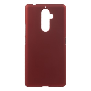 Rubberized Hard PC Case for Lenovo K8 Note - Red