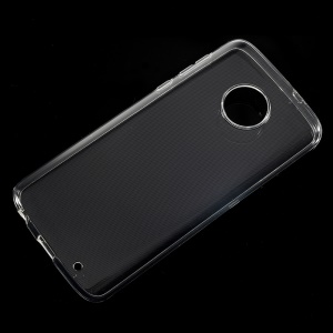 For Motorola Moto G6 Plus Clear TPU Case Cover with Non-slip Inner
