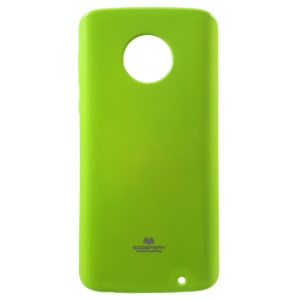 MERCURY GOOSPERY Flash Powder TPU Gel Cover for Motorola Moto G6 Plus - Green