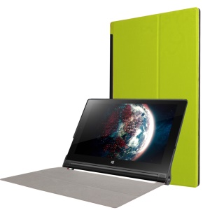 Smart Leather Cover Case for Lenovo Yoga Tablet 3 10-inch X50F X50L - Green