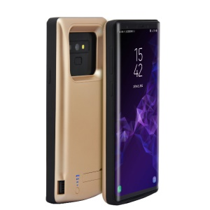 6000mAh Battery Backup Charger Case with Kickstand for Samsung Galaxy Note9 N960 - Gold