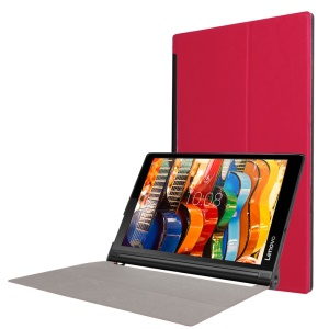 Stand Leather Case Cover for Lenovo Yoga Tab 3 10 - Red
