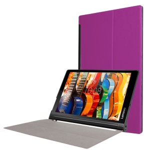 Stand Leather Case for Lenovo Yoga Tab 3 10 - Purple