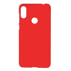 For Motorola One Power / P30 Note [Rubberized] Hard PC Case - Red