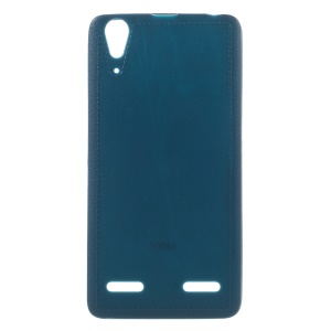 Solid Color TPU Gel Case for Lenovo A6010 / A6010 Plus / A6000 Plus / A6000 - Blue