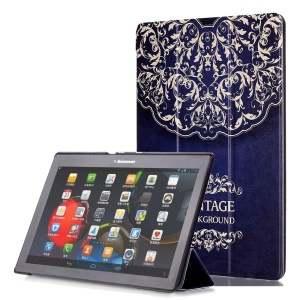 Smart Leather Stand Case for Lenovo TAB 2 A10-30 X30 / TAB 2 A10-70 - Mandala