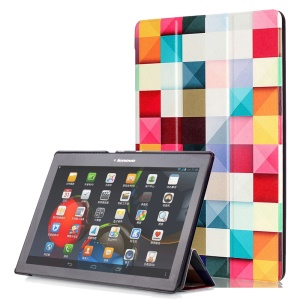 Smart Leather Stand Case for Lenovo TAB 2 A10-30 X30 / TAB 2 A10-70 - 3D Effect Check
