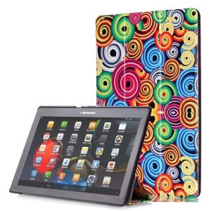 Smart Leather Stand Case for Lenovo TAB 2 A10-30 X30 / TAB 2 A10-70 - Appetite Candy