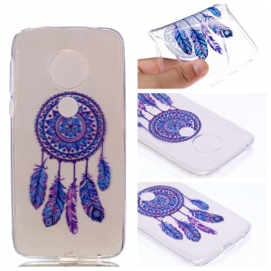 Pattern Printing TPU Case for Motorola Moto G7 Play - Dream Catcher