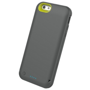 ROCK MFI Certified 3500mAh External Battery Charger Case for iPhone 6s 6 - Grey