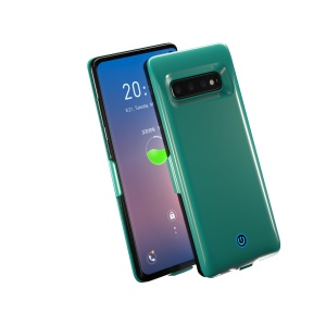 7000mAh Battery Backup Charger Case for Samsung Galaxy S10 - Green