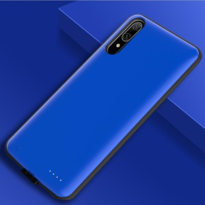 6500mAh External Battery Backup Charger Case for Huawei Enjoy 9 / Y7 Pro (2019) - Blue