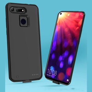 6500mAh External Battery Backup Charger Case for Huawei Honor View 20 / Honor V20 (China) - Black